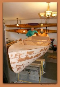 Pygmy RowBoat in the beginning stages